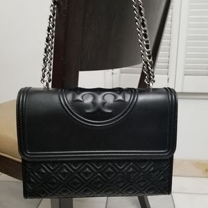 New Tory Burch Fleming convertible shoulder bag